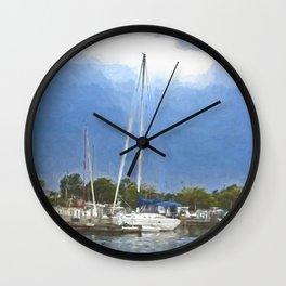 Marina Wall Clock