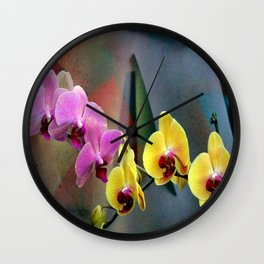 Those Ruby Red Lips Wall Clock