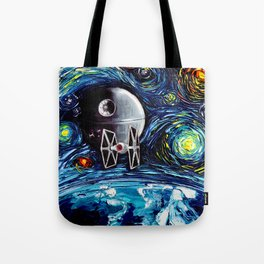 van Gogh Never Saw The Empire Tote Bag