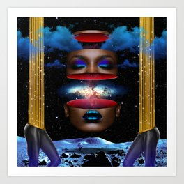 Cerulean Dream Art Print