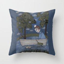 Where my Tree Grows Throw Pillow