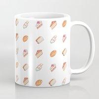 haikyuu Mugs featuring Haikyuu Favorite Desserts by Anyeka