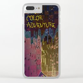 The Color Adventure in The Mistic Areas Clear iPhone Case