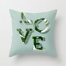 Love plants Throw Pillow