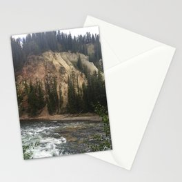 Canyon of the Yellowstone Stationery Cards