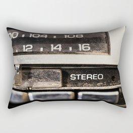 Vintage Car Radio 4 Rectangular Pillow