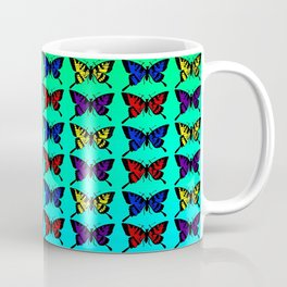 A Butterfly Pattern Coffee Mug