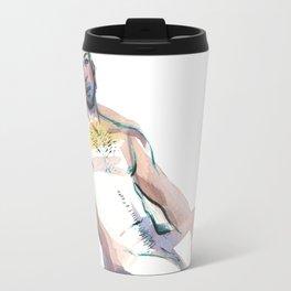 JESUS, Nude Male by Frank-Joseph Travel Mug