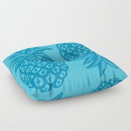 Pineapple Ocean Floor Pillow