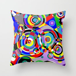 Raindrops by Bruce Gray Throw Pillow