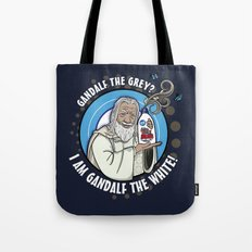 Gandalf the White Detergent Tote Bag
