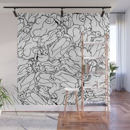 Fifty shades of Love (Light) Wall Mural