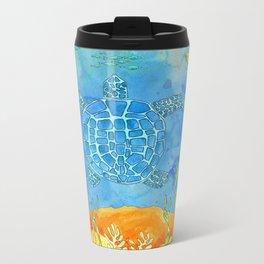 Secret Turtle Metal Travel Mug