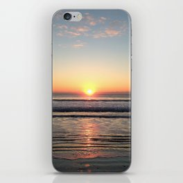 Sunrise reflection iPhone Skin