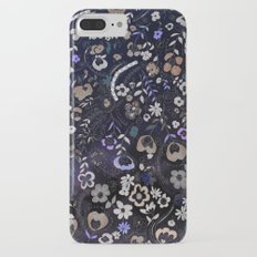 Floral Embroidery  Slim Case iPhone 7 Plus