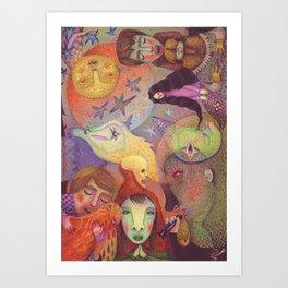 A Strange Fairytale Art Print