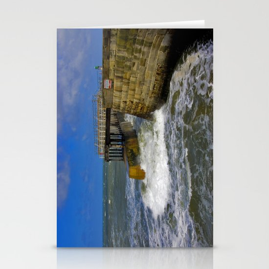 High Tide Whitby Stationery Cards
