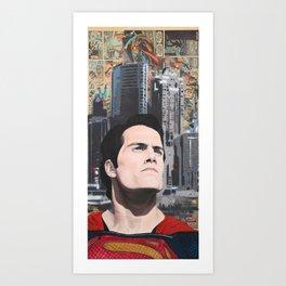 Son Of Krypton Art Print