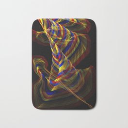 Rainbow Dance Bath Mat