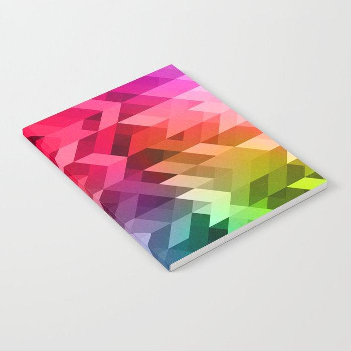 3d Retro  Notebook