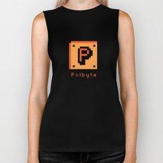 Pxlbyte Logo Shirt Biker Tank