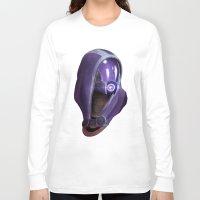 garrus Long Sleeve T-shirts featuring Mass Effect: Tali'Zorah vas Normandy by Ruthie Hammerschlag