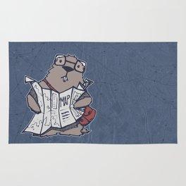 A Geeky Marmot Rug
