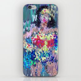 Wonder Type Woman - Abstract Pop Art Comic iPhone Skin