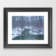 After the Blizzard Framed Art Print