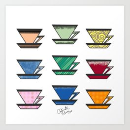 What's your favorite teacup? Art Print