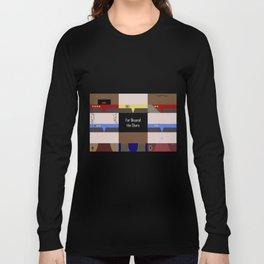 DS9 - Far Beyond the Stars - Minimalist Star Trek DS9 Deep Space Nine - startrek - Trektangles Long Sleeve T-shirt