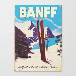 Banff National Park in Alberta Canada Canvas Print