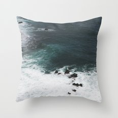 Indigo Coast Throw Pillow
