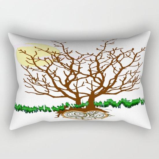 The Loving Tree Rectangular Pillow