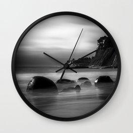 Just Another Beach Bowling Ball Beach hig tide Wall Clock