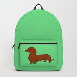 The cute dachsund Backpack