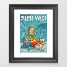 Simi & Vaci Framed Art Print