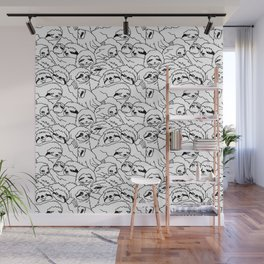 Oh Sloth Wall Mural