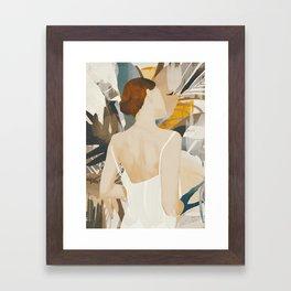 Jungle Girl Framed Art Print