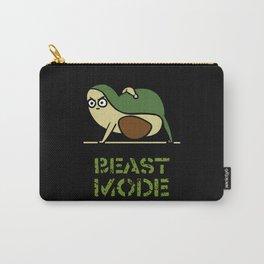 Beast Mode Avocado Carry-All Pouch