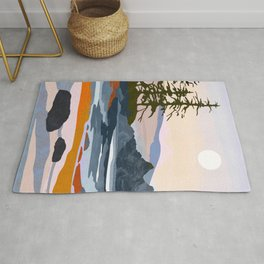 valley moon Rug