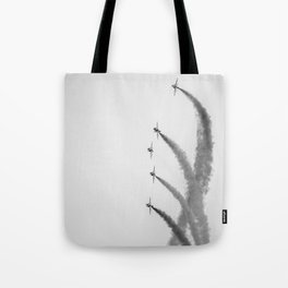High in the Sky. Tote Bag