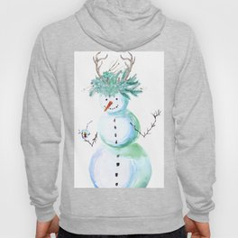 SNOWMAN PARTY ANIMAL Hoody