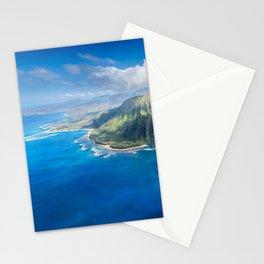 Na Pali approaching Hanalei Stationery Cards