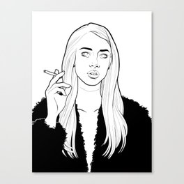 Surprise, Bitch Canvas Print