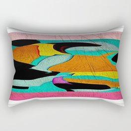 Happily Dancing Rectangular Pillow