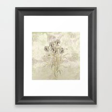 The flowers are singing Framed Art Print
