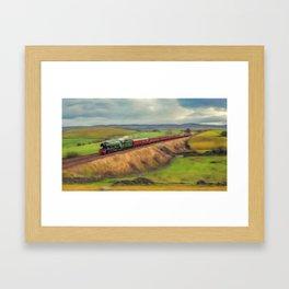 The Flying Scotsman Locomotive Framed Art Print