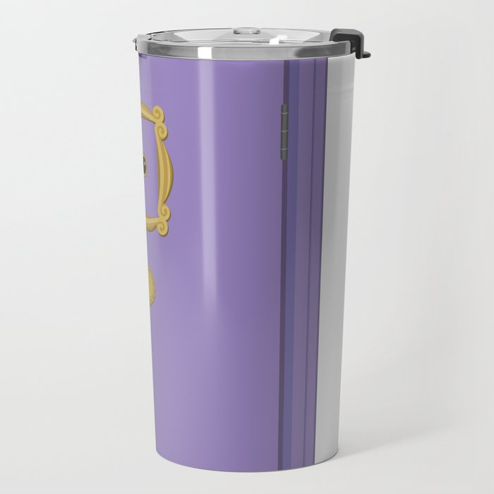 Purple Door Friends Apartment Travel Mug