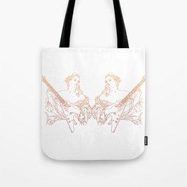 Flying V Renaissance Tote Bag